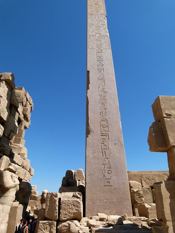 Egypte Karnak Temple Amon Obelisque Hatchepsout